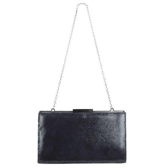 Van bag blue Dal clutch 'Zinnia' Dark q1Agq