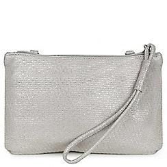 Peter Kaiser - Light grey suede 'Santrine' shoulder bag