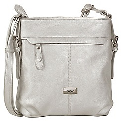 Gabor - Silver 'Lisa' Womens Messenger Handbag