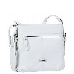 Gabor - White 'Lisa' womens messenger handbag