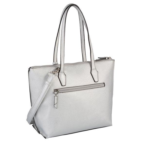 Gabor 'Zoe' Gabor shoulder 'Zoe' Silver bag bag shoulder Gabor Silver 5Z06wq