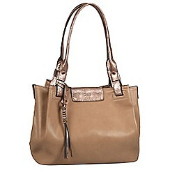 Gabor - Taupe 'Lina' shoulder bag
