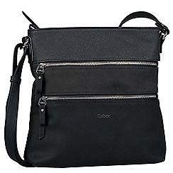 Gabor Black Jule Womens Shoulder Bag