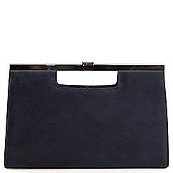 Peter Kaiser - Navy 'Wye' womens clutch bag