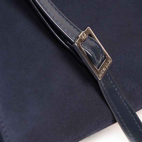 Kaiser Navy 'Wye' clutch Peter womens bag d5Axw1