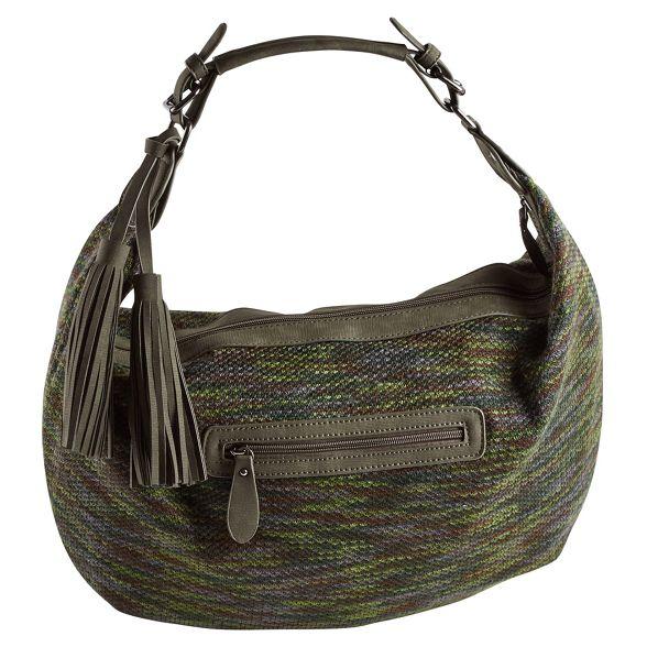 boho Dark slouchy Browns Joe green bag tassel wFSOnq8f