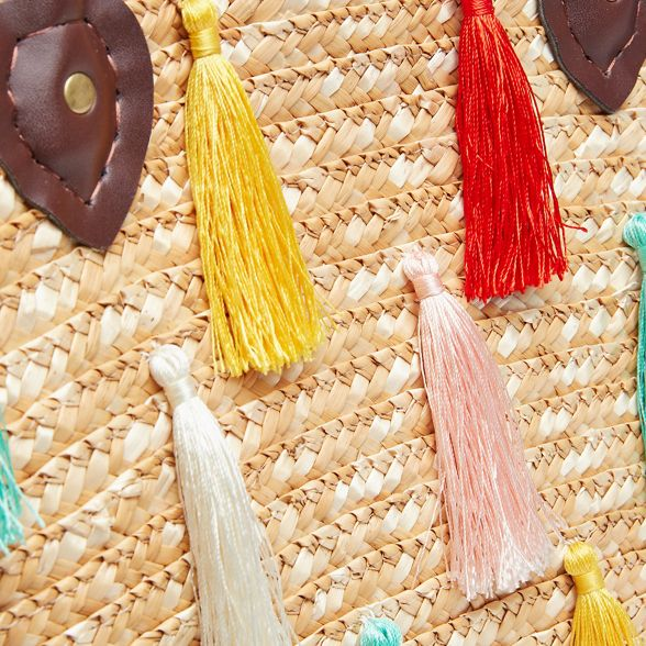 Joe retro truly basket coloured tassel Multi Browns 4xSOr4