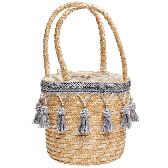 Natural basket tassel pretty Joe Browns xX6qRXP