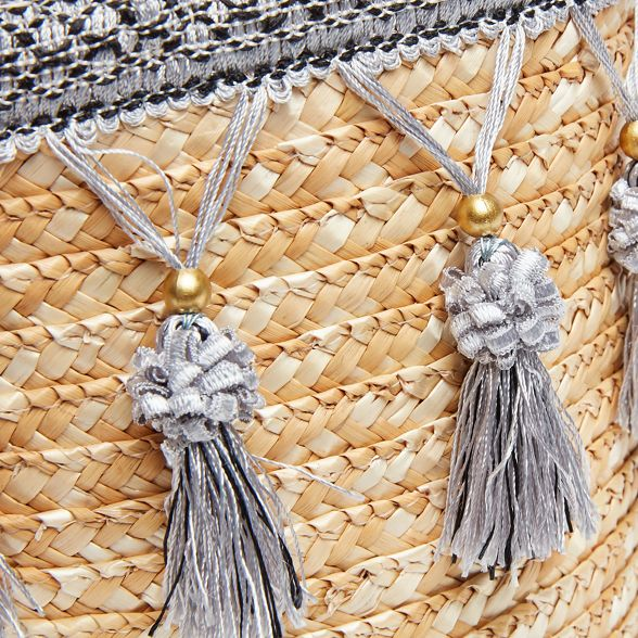 tassel pretty basket Browns Joe Natural qtRBRg