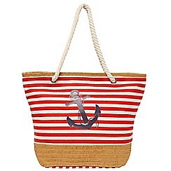 Joe Browns - Multi coloured ship ahoy beach bag
