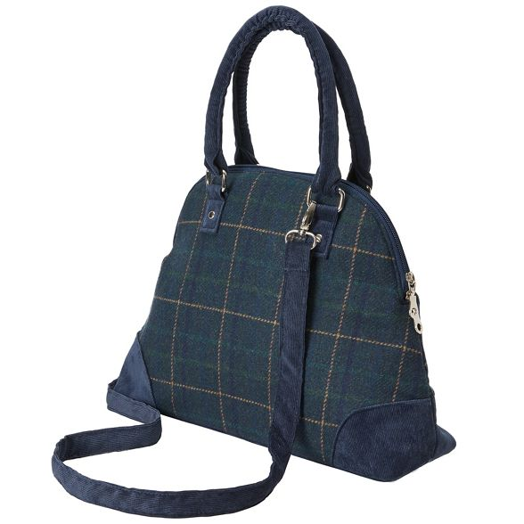 tweed bag grab check Joe Navy Browns qTPwCnSR