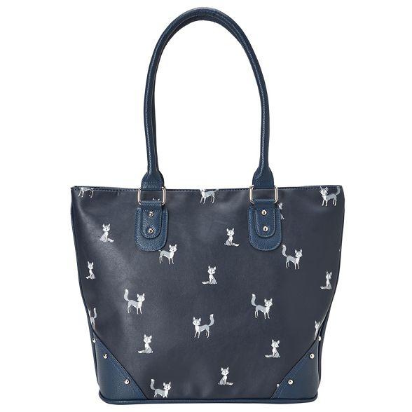 fox bag funky Joe Dark print Browns blue zx4wTIZ8q