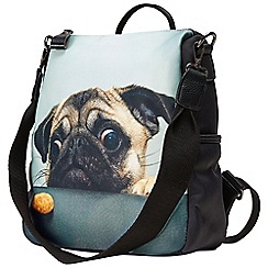 Joe Browns - Multicoloured cute pug bag