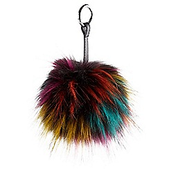 Joe Browns - Multi coloured fabulous pom pom bag charm