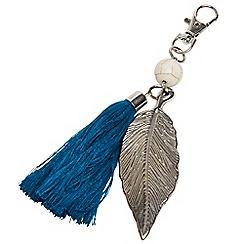 Joe Browns - Blue 'Indian Island' leaf charm