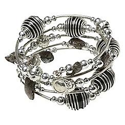 Joe Browns - Metallic unique spiral bracelet