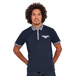 Joe Browns - Navy super smart polo  shirt