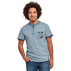 Joe Browns - Blue customised Henley t-shirt