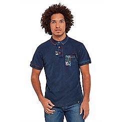 Joe Browns - Navy customised polo shirt