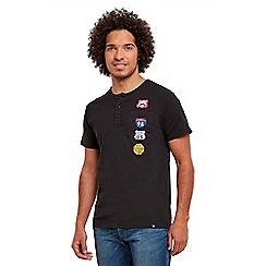 Joe Browns - Black badge me up Henley t-shirt