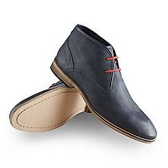 Joe Browns - Dark blue distressed leather boots