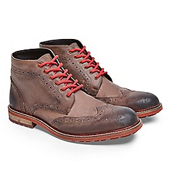 Joe Browns - Brown perfection waxed leather boots