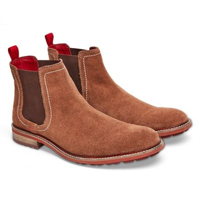 Joe Browns - Tan weekend suede Chelsea boots