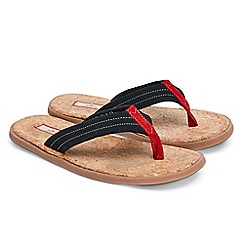 Joe Browns - Navy easy life suede sandals