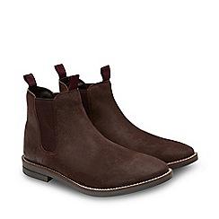 Joe Browns - Brown Suede 'Distressed' Chelsea Boots