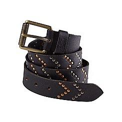 Joe Browns - Black super studded leather belt