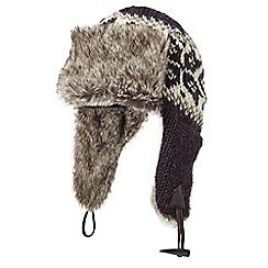 Joe Browns - Grey cool wool trapper hat