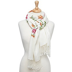 Joe Browns - Multi coloured stunning embroidered wrap