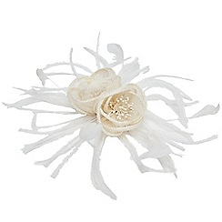 Joe Browns - Cream stunning fascinator clip