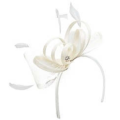 Joe Browns - Cream fit for the occasion fascinator