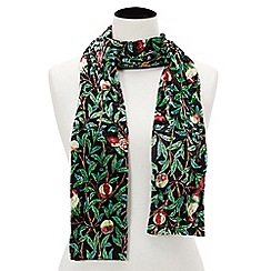 Joe Browns - Multicoloured indian palace velvet skinny scarf