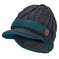 Joe Browns - Grey cute and cosy baker boy hat
