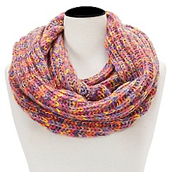 Joe Browns - Multicoloured sizzling space dye snood