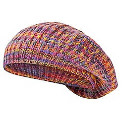 Joe Browns - Multicoloured sizzling space dye beret