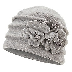Joe Browns - Grey dolores wool cloche hat