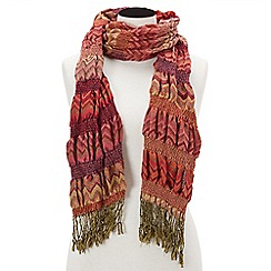 Joe Browns - Orange colourama scarf