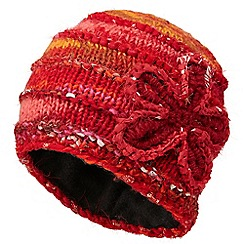 Joe Browns - Orange amazing knitted hat