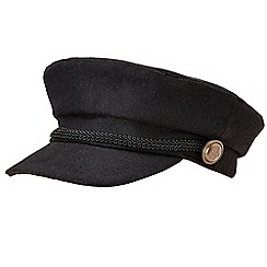 Joe Browns - Black marvellous military hat
