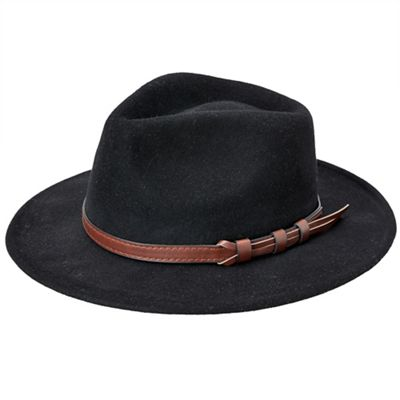edb9e48b04750 Joe Browns Black wool fedora