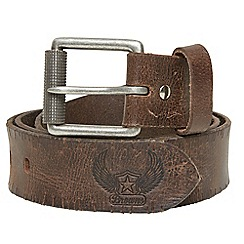 Joe Browns - Brown raw and rustic belt