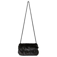 Joe Browns - Black anastasia faux fur muff