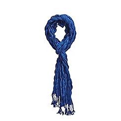 Joe Browns - Blue 'tempo woven' skinny scarf
