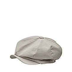 Joe Browns - Cream 'retro' baker boy hat