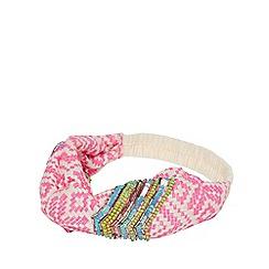 Joe Browns - Pink Beaded 'Zanzibar' Headband