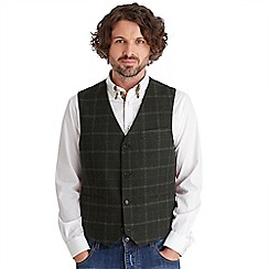 Joe Browns - Dark green deadly dapper waistcoat