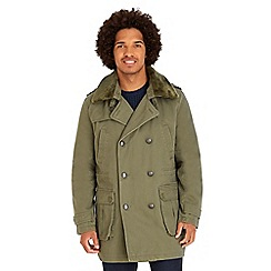 Joe Browns - Khaki worth a medal coat
